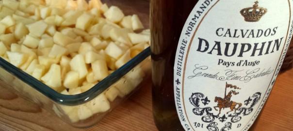 Calvados macht Apple Crumble groß