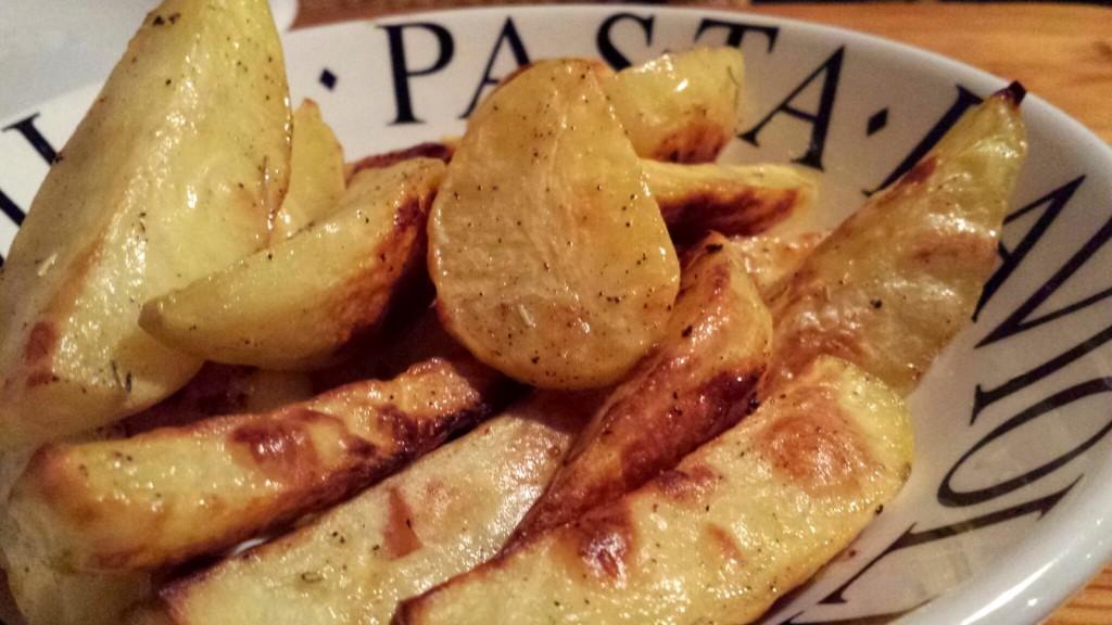 Ofenkartoffeln frisch aus dem ... Ofen.
