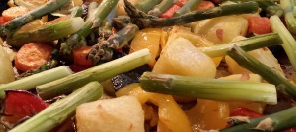 Kochen für Deppen: Lammkotelett mit Ofengemüse