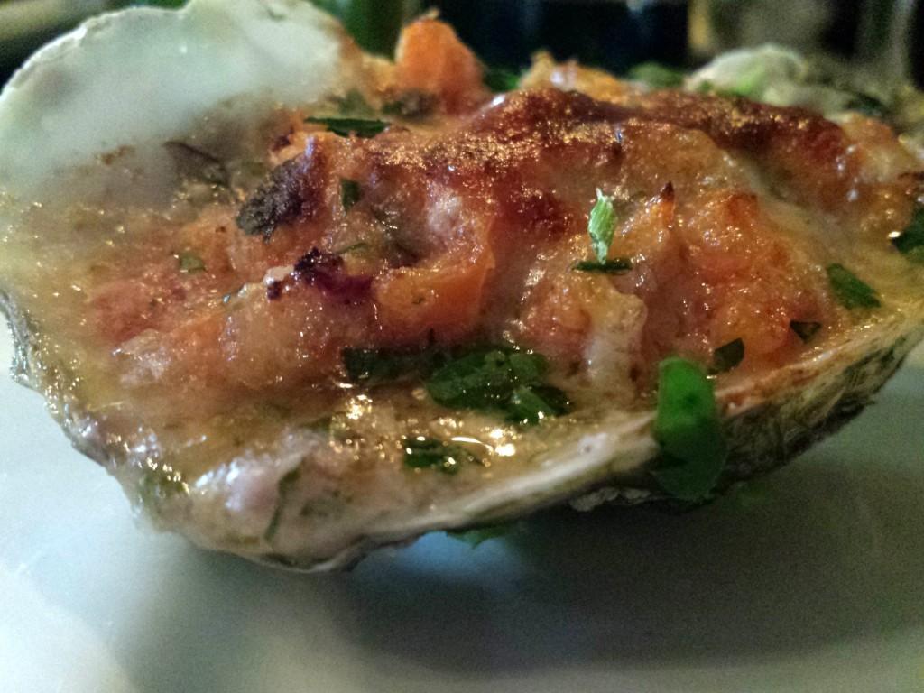 gratinierte Auster